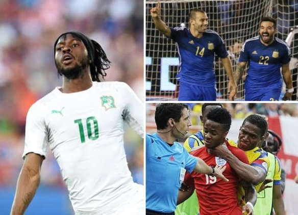 【親善試合】イングランドVSエクアドル、イタリア、アルゼンチン、ウルグアイ、コートジボワール…他