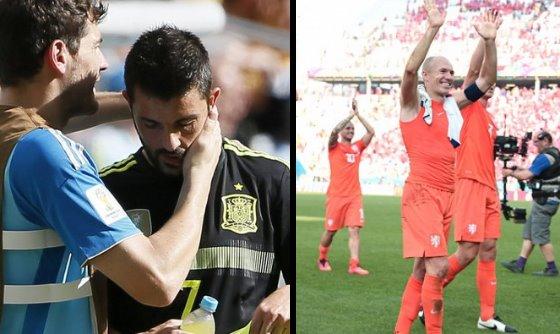【W杯B組】オランダ対チリ、スペイン対オーストラリア(動画)