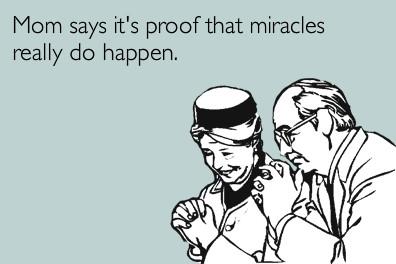 自分が起こした奇跡書いてけ