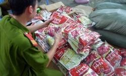 豚肉を牛肉に変える中国製の「魔法の添加物」150キロを押収 ベトナム