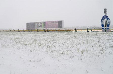 【競馬】 土曜日の東京競馬は雪のため火曜日に延期… 4日連続の中央開催に