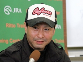 【阪神JF】 池江師「ミスエルテは使うたびに難しくなっている感じで追い切りではとにかくかかる。」