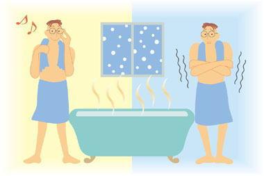 冬場の入浴時、急激な温度差と血圧の変動による突然死「ヒートショック」に注意 … 若い世代でも起きる可能性、年間推計死者が1万7000人で交通事故死者数の4倍に
