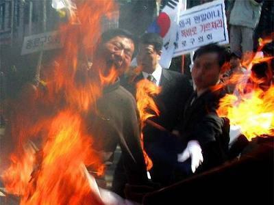 34歳の男「上の階のヤツがうるさいから部屋に火をつけてやったニダ」 → 犯行否認 → ウソ発見器などで立件 - 韓国