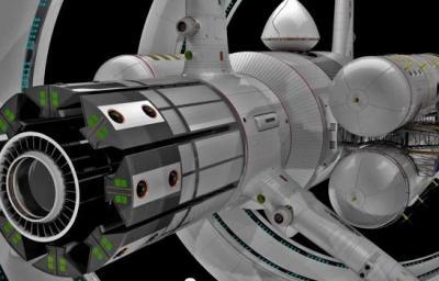 これがワープ航法実現可能な宇宙船『IXSエンタープライズ』――NASAが設計画像を公開 (CNN)