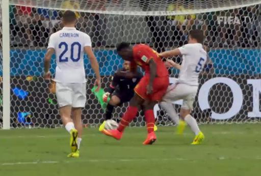 W杯決勝トーナメント1回戦 ベルギーがアメリカを延長戦2-1で破る … ベルギーのシュート数38、GKティム・ハワードの1試合16セーブはW杯記録