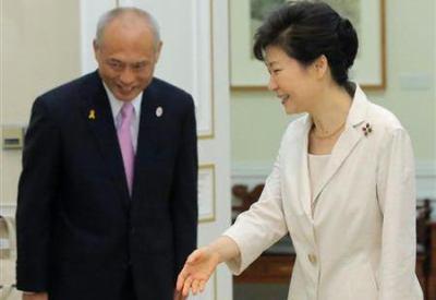 舛添都知事「朴槿恵様に『全力で協力したい』と約束してきたから首都圏に韓国学校を建てろ」 → 都の担当者「福祉施設建設が優先だったのでは?」「空いた土地があるなら教えてほしい」