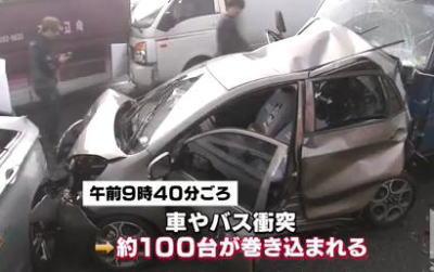 韓国・仁川国際空港近くの永宗大橋で車100台近くが多重衝突事故、2名死亡・66人が重軽傷、内19人が外国人 … 事故当時は濃霧に覆われて視界が10mほど