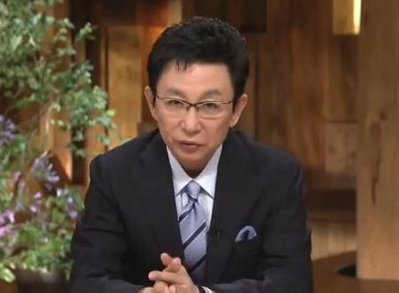 古舘伊知郎氏 「世の中100人いれば100通りの考えがある。今の私が言えることは一つ、出来得る限り真っ直ぐ向いて伝えるべきだというニュースを伝えていく、その決意のみ」