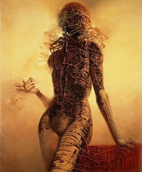 【閲覧注意】終焉の画家『ズジスワフ・ベクシンスキー』の画像を淡々と貼るスレ