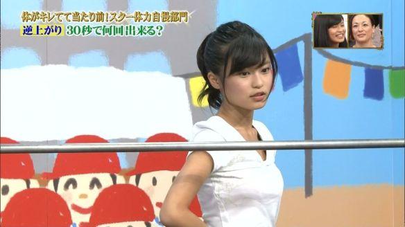 【画像あり】小島瑠璃子、逆上がりするだけでエッロいwwwwwwwwwwwwwwww