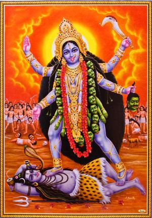 【閲覧注意】カーリーってインドの女神怖すぎワロエナイ・・・・・・(画像あり)