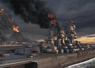"""海戦ゲーム『World of Warships』に登場する日本海軍の軍艦旗、「旭日旗全面排除」という形で解決を図る方針 … 代わりに日章旗を使用、""""旭日旗MOD""""を使用して遊ぶのはアリ"""