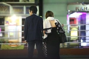 【競馬】 武豊騎手、美馬怜子アナと六本木手つなぎデート…?  女性セブン