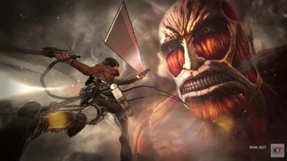 【動画】PS4で出る進撃の巨人の実機プレイが凄すぎワロタwwwwww