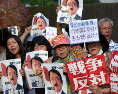 長谷川幸洋氏「ノーベル賞とTPP報道で対立ムードが吹っ飛んだ。安倍首相は間違いなくツイている」「それにしても安保関連法をめぐる騒ぎ、反対派は一体どこへいったのか」