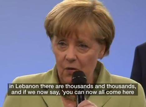独・メルケル首相、移民危機について発言「すべての移民が欧州に留まる事はできない、留まる事ができるのはテロや戦争の被害者だけだ」