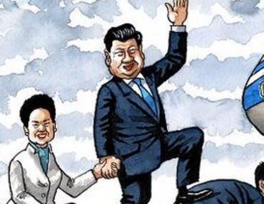 「中国の金に魂を売ったお歴々」 イギリスの風刺画をご覧下さい(画像)