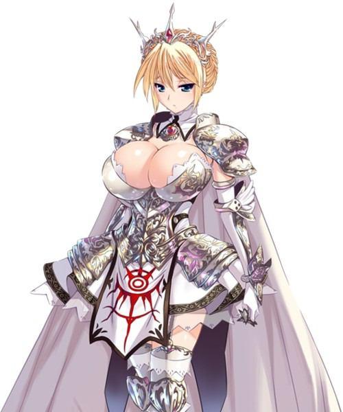 【画像】今どきの女騎士クソワロタwwwwwwwwww