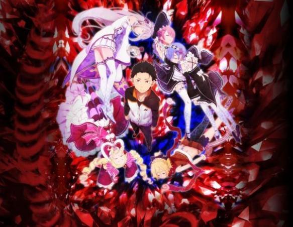 【速報】リゼロ、ジョジョとハイフリを抜き春アニメの覇権に確定!