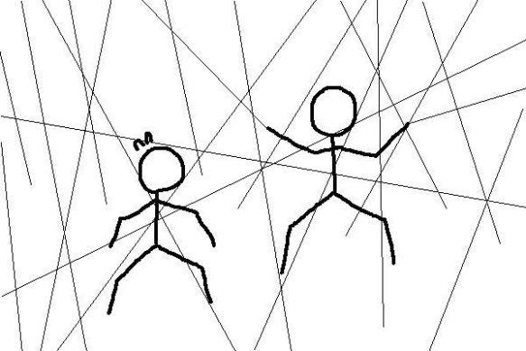【画像】糸使いがやる「糸を張り巡らせる攻撃」のかっこよさは異常
