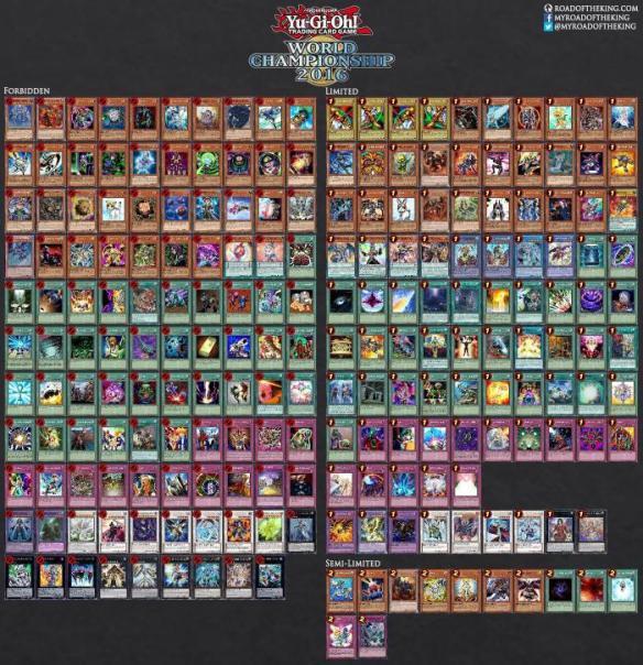 【悲報】遊戯王の禁止カード、多すぎる