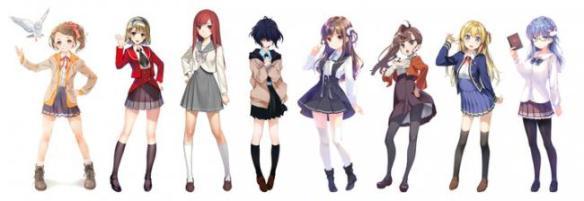 【画像】秋元康プロデュースの「デジタルアイドル」のキャラビジュが公開、絵師バラバラなのはだめだろ・・・・