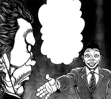 【画像】宮根誠司、なぜか刃牙でも斬殺されるwwwwwwwwww