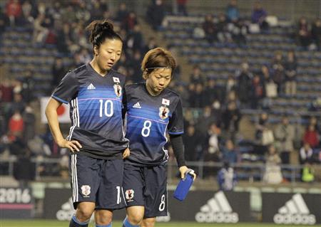 女子サッカー・リオ五輪アジア最終予選、なでしこジャパンが中国に1-2で敗れ、4大会連続の五輪出場が絶望的に