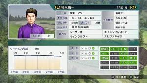 【競馬】 ウイポ8での福永の騎乗能力がおかしい件wwwwwww
