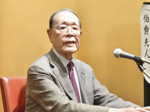 三島由紀夫賞受賞の蓮実重彦さん