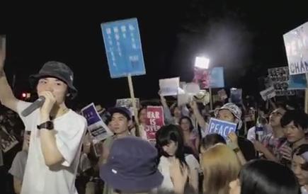 """SEALDs「民主主義って何だ!デモだ!ヘラヘラ」→ 川崎市で""""日本浄化デモ""""が企画され、道路の使用許可が出る→ SEALDs「ふざけんなよ!絶対にやらせない。奴らを通すな!」"""