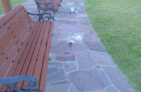 「公園にポイ捨てだめ」児童に注意され62歳男が逆ギレ
