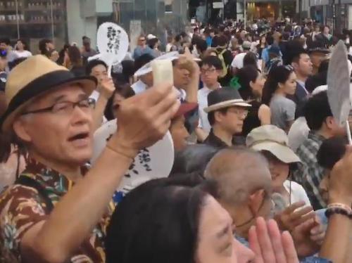 安倍首相 応援演説の「帰れ」コールに反撃「妨害ばかりなんて恥ずかしくないのか」→ 集まった聴衆も拍手で援護し、ヤジの声はかき消される