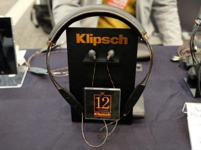 ポタフェス クリプシュ「X20i」用交換ケーブルを参考展示。俺のX10はどこ行ったんだ…