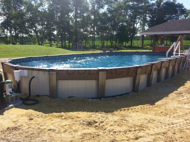 Large Of Semi Inground Pools
