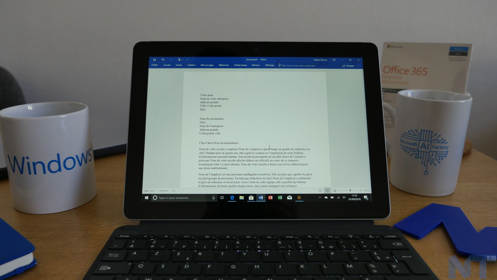 Microsoft Office Pour Tablette Test De La Surface Go De Microsoft La Tablette Ultime