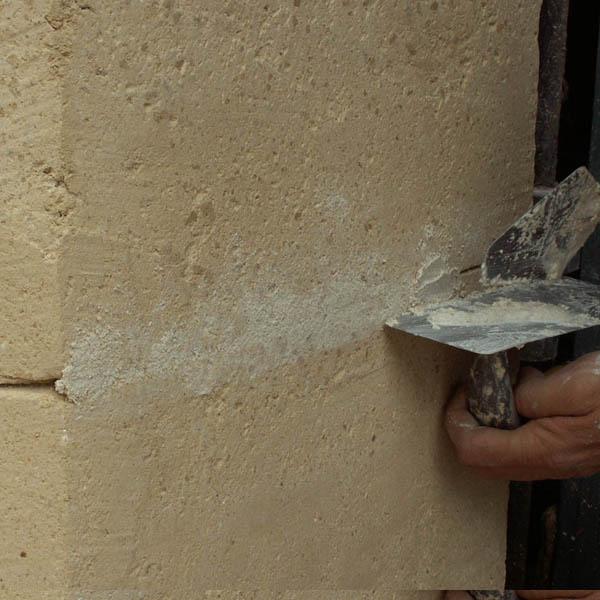 Restaurer les pierres de taille abim es for Pierre pour le sol