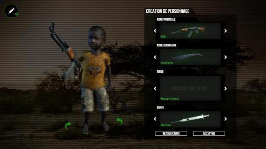 Jugador, niño soldado Amnistía Internacional