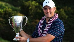 Jordan Spieth at the Hyundai Tournament of Champions.