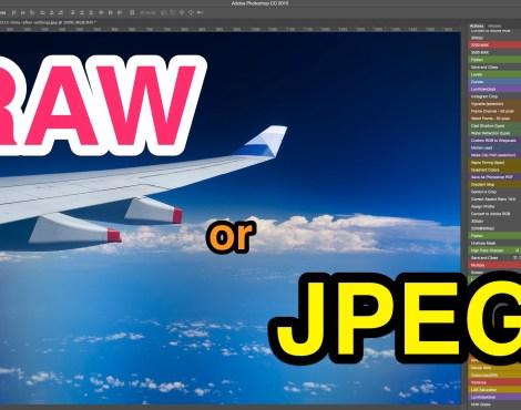 RAW or JPEG?
