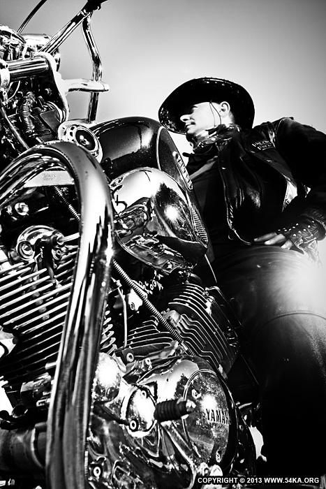 Biker Girl Wallpaper Motorcycle Lifestyles Black Amp White Biker Man Portrait