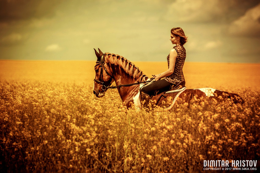 Beautiful Wedding Girl Wallpaper Girls Riding Horse In Beautiful Meadow 54ka Photo Blog