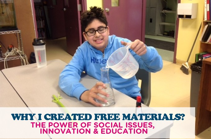 WHY I CREATED FREE AUTISM EDUCATION MATERIALS? THE POWER OF SOCIAL ISSUES, INNOVATION & EDUCATION