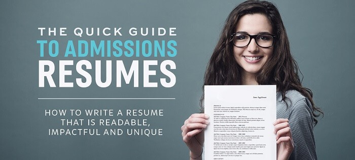 How to Write an MBA Application Resume That Will Impress the Adcom