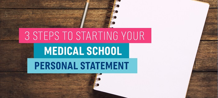 Med School Personal Statement How to Get Started