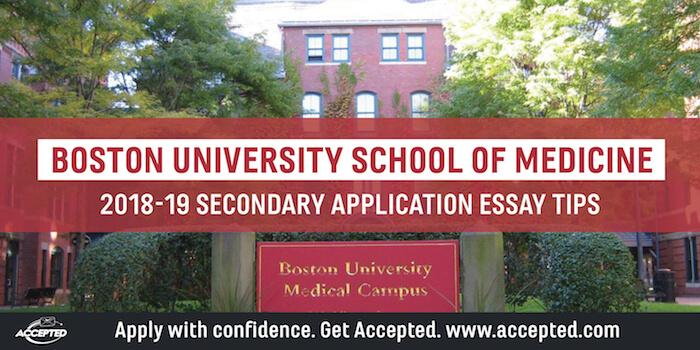 School-Specific Med Secondary Essay Tips