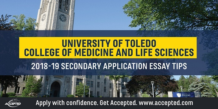 UT College of Medicine  Life Sciences Secondary Application Essay