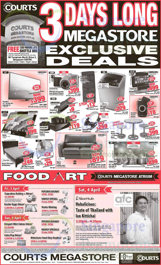 Megastore-Exclusive-Deals-TV-Digital-Camera-Washer-Sofa-Set-Mattress-Home-Theatre-System-Notebook-Food-Art-Acer-Olympus-Sandisk-Midea-Sleep-Clinic-HTL-Toshiba-Philips-550x905