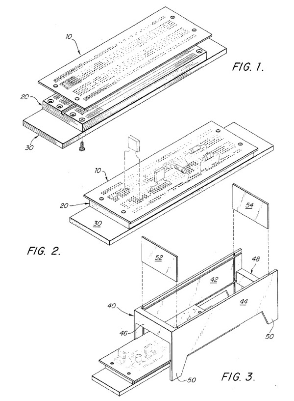 method for transferring electrical components from a